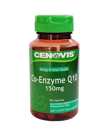 CENOVIS 【保护心脏】澳洲Cenovis 辅酶Q10胶囊150mg 90粒