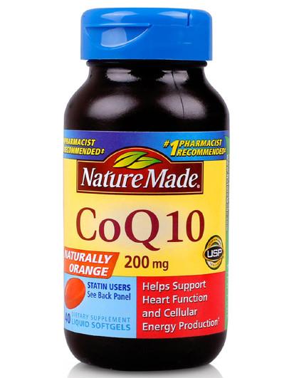 Nature Made 辅酶 Q10 保护心脏软胶囊 40粒