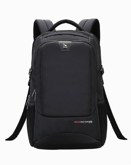 爱华仕 双肩包时尚商务男款背包休闲百搭书包电脑包男士4308
