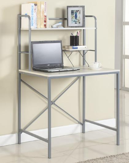 生活诚品 钢木电脑桌台式家用简易书桌现代简约办公桌笔记本桌子电竞桌