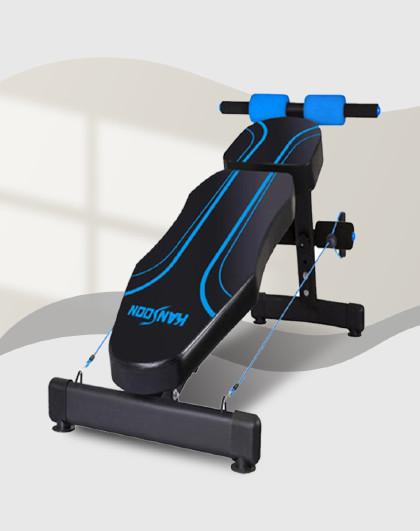 凯速 多功能仰卧起坐健身器材哑铃凳仰卧板多角度可调节腹肌板