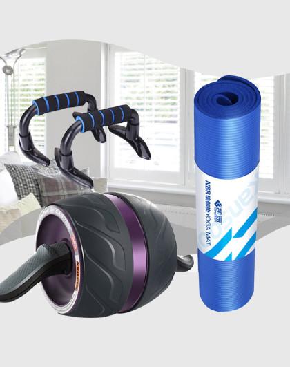 凯速 健腹轮 健身器材家用自动回弹健腹轮减肚子收腹轴承健身套装