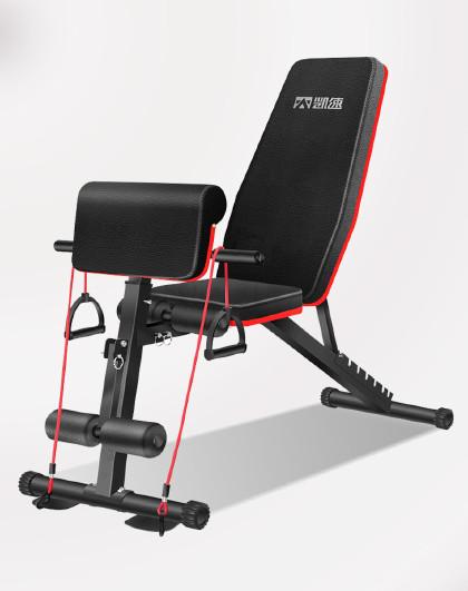 凯速 仰卧板 仰卧起坐健腹器健身器材 多功能哑铃凳7档调节