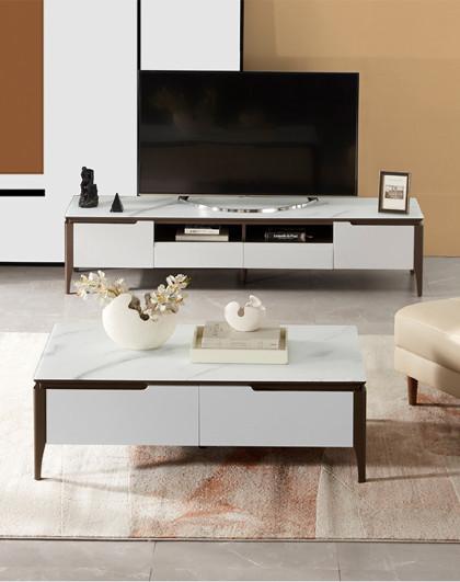 茶几桌简约客厅家用茶桌电视柜组合小户型PTDK057【30天发货】