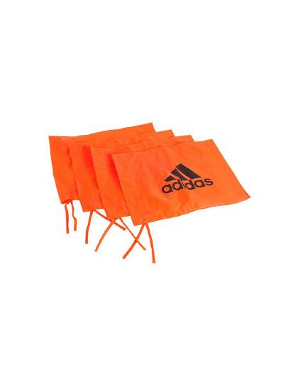 adidas 阿迪达斯足球角旗标志杆敏捷柱运动训练辅助器材