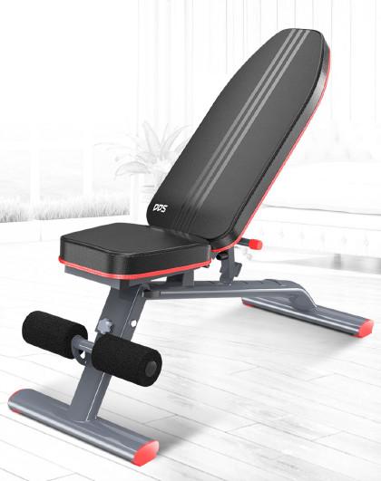 DDS 仰卧板仰卧起坐健身器材家用多功能卧推凳哑铃凳健腹肌板健身椅