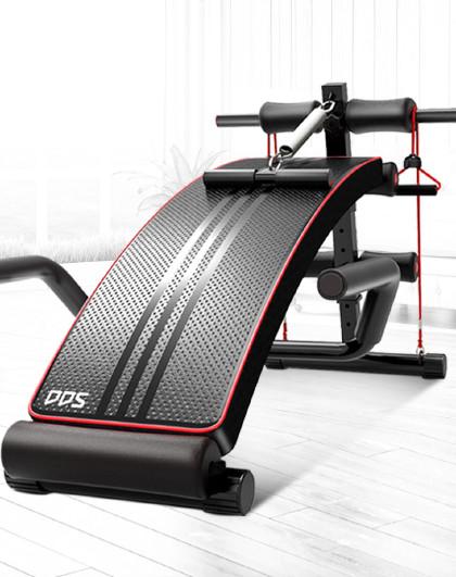 DDS 仰卧起坐健身器材家用多功能大扶手仰卧板运动腹肌板减肥收腹器