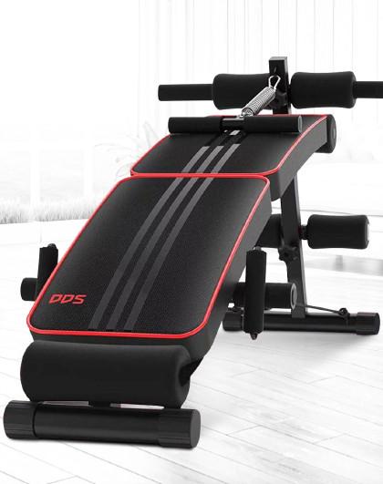 DDS 仰卧起坐健身器材家用多功能收腹机运动辅助器健腹肌可折叠仰卧板