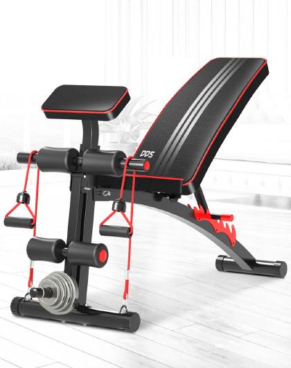 DDS 多功能哑铃凳健身椅收腹机健腹板仰卧起坐板家用运动健身器材