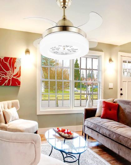 【现货闪发】欧普照明吊扇灯风扇灯客厅餐厅卧室吊灯