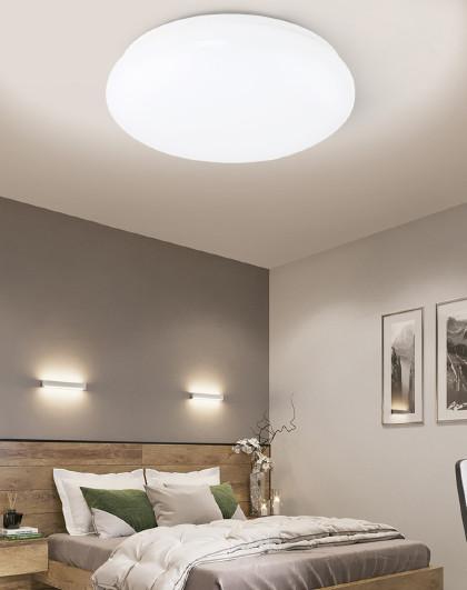 雷士 照明LED圆形卧室吸顶灯客厅餐厅书房间灯温馨浪漫简约现代