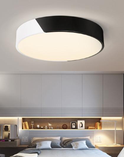 雷士 照明led客厅灯吸顶灯北欧现代简约长方形圆形家用灯具套餐