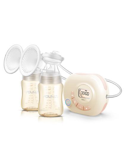 双边电动吸奶器产妇挤奶器自动吸乳器丨便携锂电款YH-8004