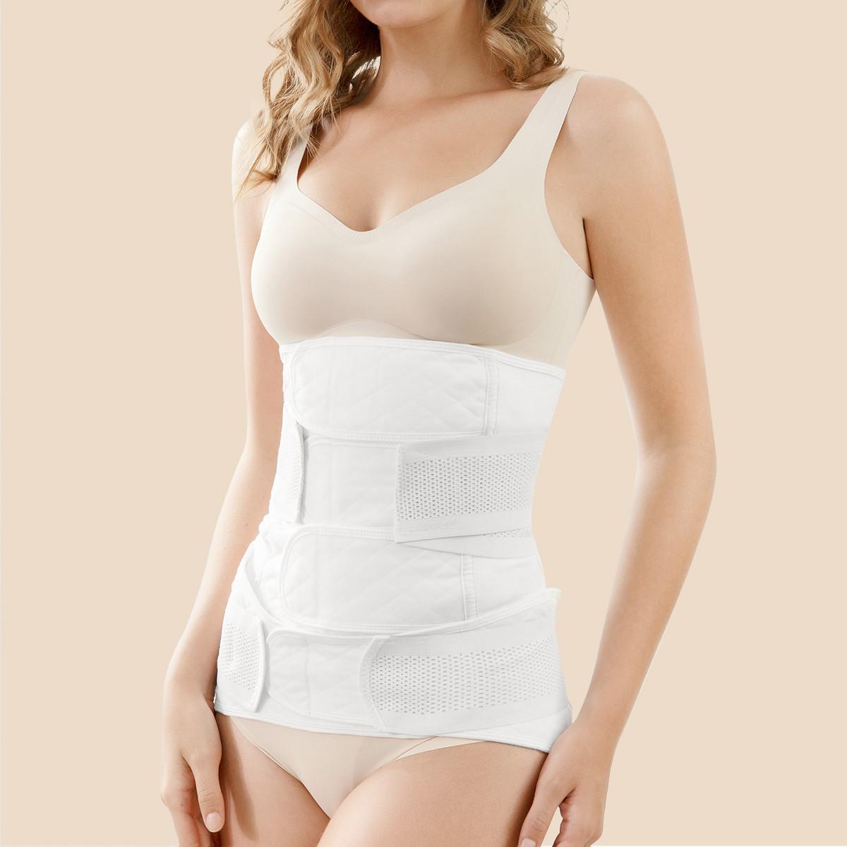 琳达妈咪 产后收腹带2件套产后专用纯棉纱布束腹带骨盆带剖腹顺产束腰带