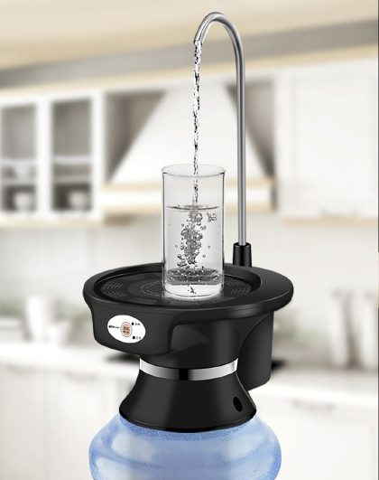 TIANXI 天喜家用台式桶装水抽水器电动饮水机家用压水器自动上水器热水壶