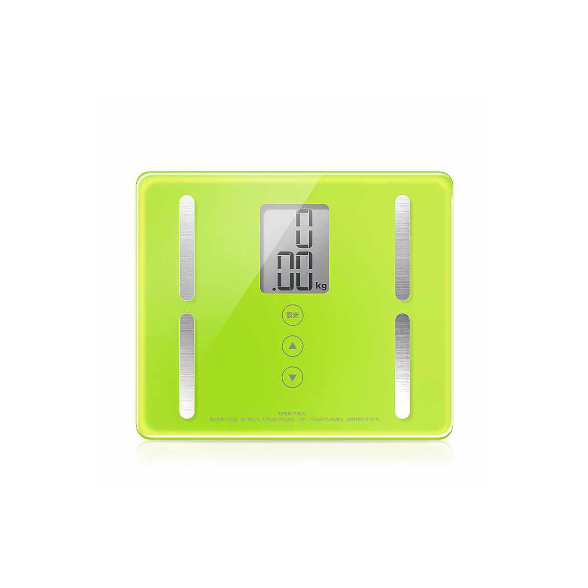 dretec 日本进口人体体脂减肥称家用成人称脂肪秤小易收纳人体数据测量