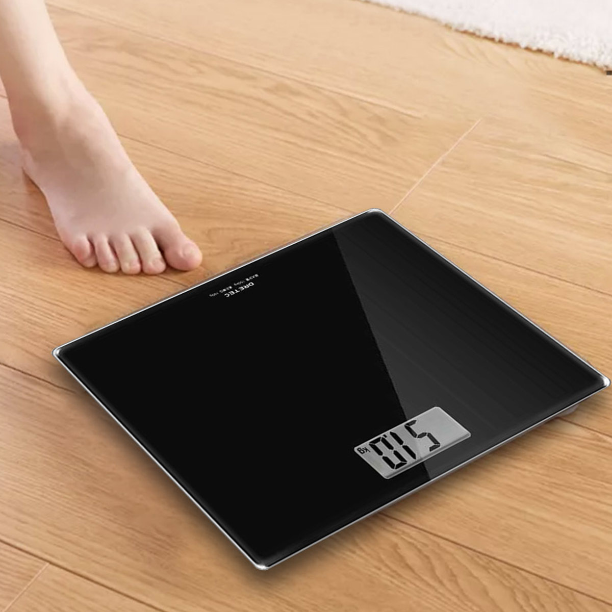 dretec 多利科日本进口体重秤家用人体秤电子秤成人女生减肥称测体重