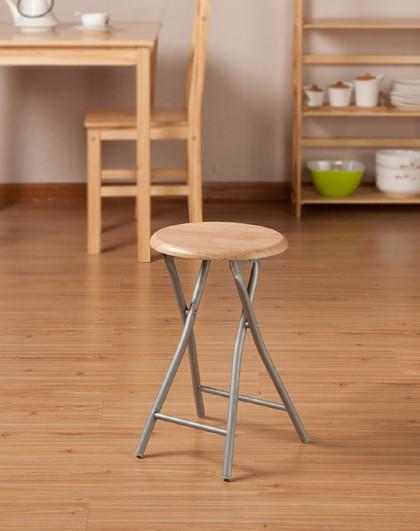 坐椅会客椅子凳子好事达实惠木面靠背钢椅折叠会议椅办公椅餐椅