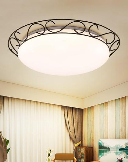 雷士 led吸顶灯家用客厅卧室灯房间吸顶灯美式创意现代简约灯具