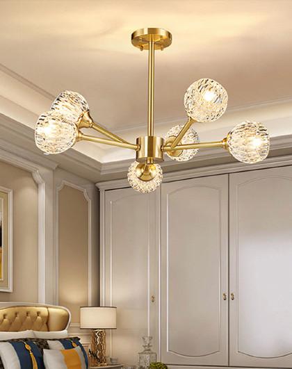 雷士 led吊灯吸顶灯客厅灯卧室灯具长方形圆形简约现代水晶灯