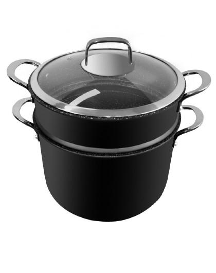 赛普瑞斯・先生 火麒麟 煮粥煲汤锅炖锅焖锅双层蒸锅蒸屉电磁炉燃气通用包邮