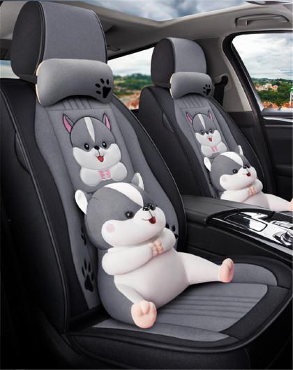 四季通用亚麻全包汽车座套19新20座椅套专用座垫全包围坐垫汽车