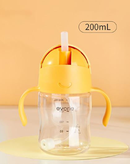 儿童水杯吸管杯婴儿学饮杯宝宝喝水防呛家用手柄防摔奶瓶