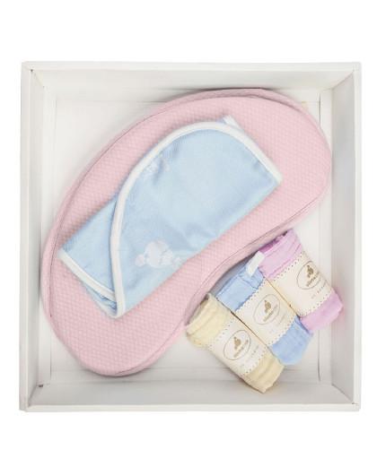 婴儿定型枕宝宝防偏头扁头枕头新生儿婴童枕头用品0-1岁
