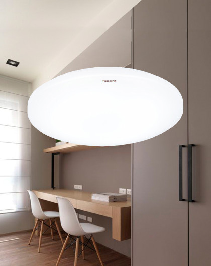 Panasonic 吸顶灯LED卫生间灯简约阳台卧室圆形灯HHLA1041CBC