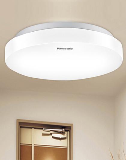 Panasonic 吸顶灯LED灯具卧室阳台玄关门厅圆形灯HHLA0417CB