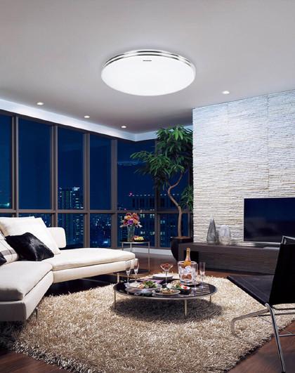 Panasonic 吸顶灯LED卧室餐厅书房阳台灯HHLA1038CBW01C
