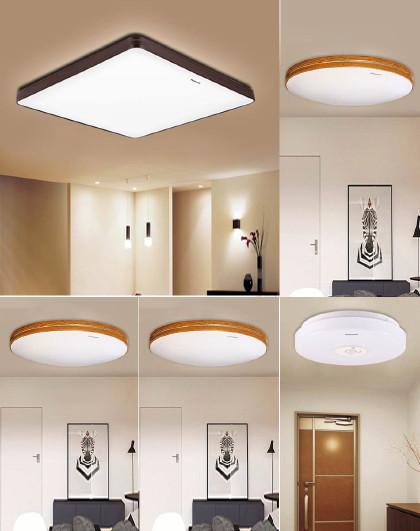 Panasonic 松下吸顶灯LED客厅卧室灯具灯饰简约三室一厅一阳台厅灯具套餐