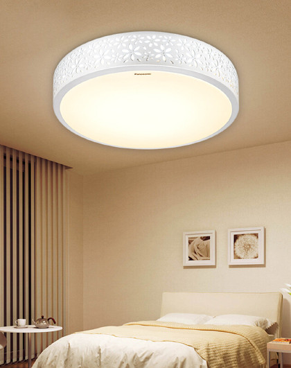 Panasonic 松下吸顶灯LED灯具圆形客厅卧室灯现代简约HHLA1839W