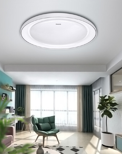 Panasonic 松下led吸顶灯卧室吸顶灯圆形简约照明灯具HHXZ3012