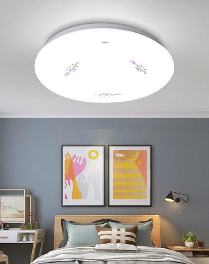 雷士 LED吸顶灯圆形卧室吸顶灯客厅餐厅书房间灯简约现代灯具