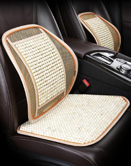 菩提子汽车坐垫夏季凉垫无靠背单片珠子三件套后排通用木珠座椅垫