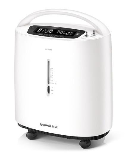 鱼跃 制氧机8F-3GW带雾化医用3L升家用吸氧机家庭式氧气机
