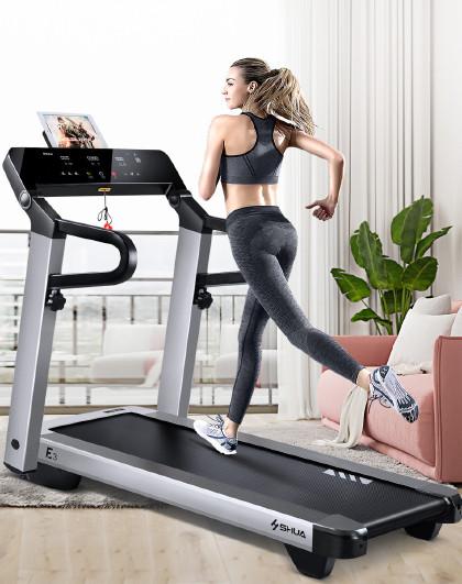 舒华 【全折叠免安装】家用跑步机静音折叠小型智能健身器材3100