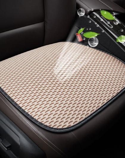 夏季3D蜂窝透气网布凝胶雪铁龙凌渡奔驰奥迪福特纯色汽车座垫