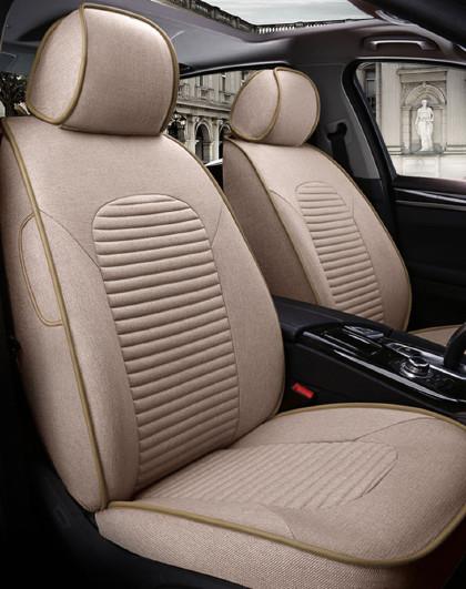 紫风铃 专车定制四季通用全包麻布专用座套凯美瑞宝马大众雅阁ZT-16