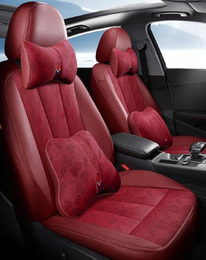 奥迪A4A6Q5专用汽车座套3D透气网布全包四季汽车坐垫