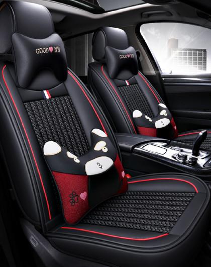 汽车坐垫夏季大众朗逸速腾宝来英朗卡罗拉透气四季皮革座套全包围