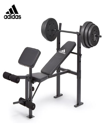 adidas Adidas阿迪达斯多功能哑铃凳仰卧起坐健身器多功能辅助器