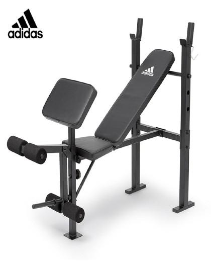 adidas Adidas阿迪达斯多功能哑铃凳仰卧起坐健身器材多功能辅助器
