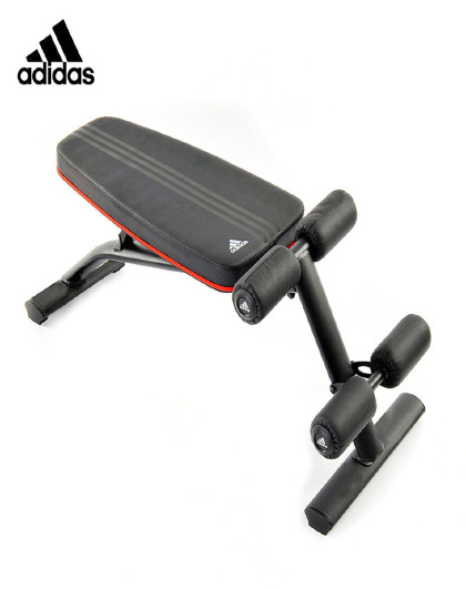 adidas Adidas阿迪达斯多功能哑铃凳健身椅飞鸟凳健腹仰卧起坐板