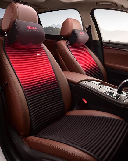 Mubo 四季坐垫负离子座垫适用于奥迪Q5Q3宝马5系525li丰田卡罗拉凯美瑞