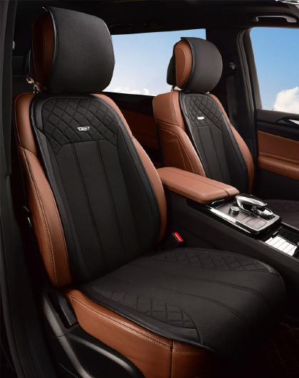 Mubo 牧宝汽车坐垫四季通用定制座垫适用于奔驰宝马奥迪大众别克