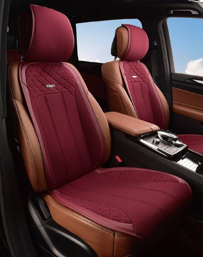 牧宝汽车坐垫四季通用定制座垫适用于奔驰宝马奥迪大众别克