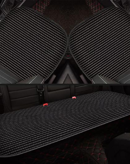 牧宝汽车坐垫无靠背三件套四季通用养生座垫秋冬季单座椅后排单片