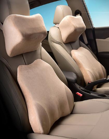 汽车头枕腰靠记忆棉护颈枕车用靠枕车载座椅腰靠车载车内用品